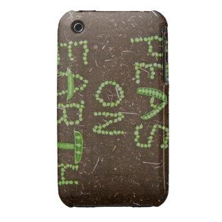Guisantes en la tierra iPhone 3 carcasa