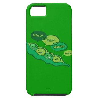 Guisantes en una vaina (hola) iPhone 5 funda