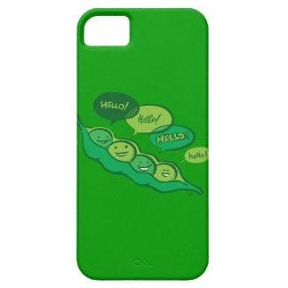Guisantes en una vaina (hola) iPhone 5 fundas