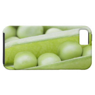 Guisantes orgánicos frescos iPhone 5 fundas