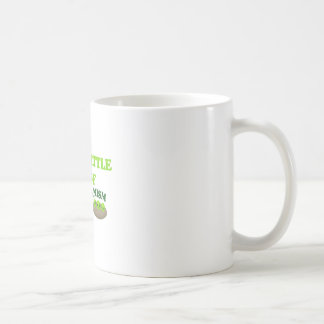 Guisantes vegetarianos taza de café