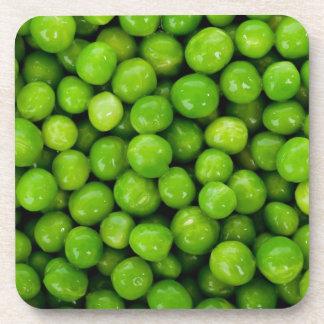 Guisantes verdes posavaso