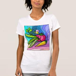 Guisantes y pastinacas camisetas