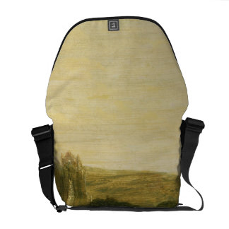 Guisborough Priory, c.1801-02 (oil on canvas) Messenger Bag