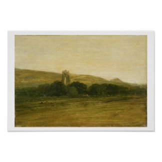 Guisborough Priory, c.1801-02 (oil on canvas) Poster