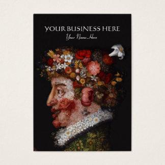 Guiseppe Arcimboldo - Florist, Art Historian Business Card
