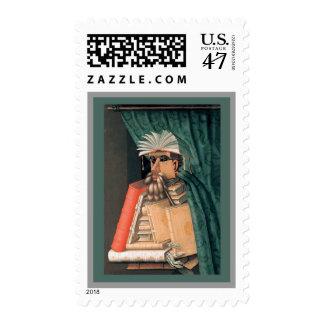 Guiseppe Arcimboldo - The Librarian Postage
