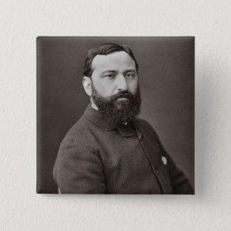 Guiseppe de Nittis (1846-84), from 'Galerie Contem Pinback Button