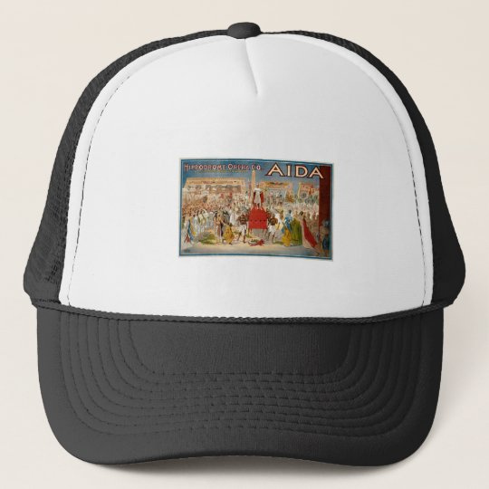 Guiseppe Verdi Aida 1908 Hippodrome Trucker Hat