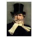 Guiseppe Verdi - Maestro of Italian Opera Greeting Card