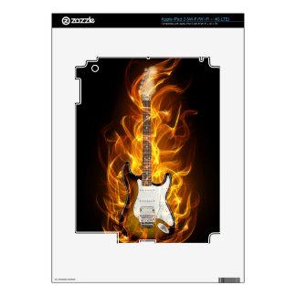 Guitair Flames iPad 3 Skin