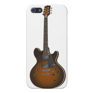 guitar02 - hollowbody case for iPhone SE/5/5s