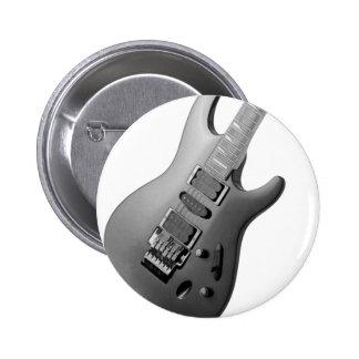 Guitar 2 Inch Round Button