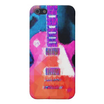 guitar 4 casing iPhone SE/5/5s cover