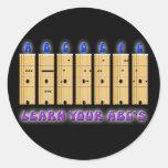 Guitar ABC's Sticker