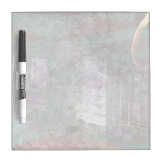 guitar abstract darker colors grunged dry erase board