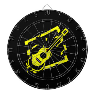 guitar abstract scribble back black yellow.png dart board
