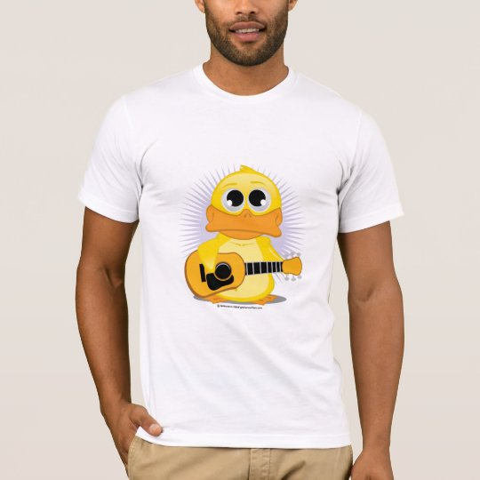Guitar (Acoustic) Duck T-Shirt