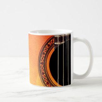 Guitar Acoustic Musical Instrument Coffee Mug