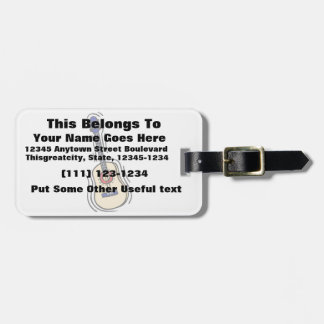 guitar acoustic simple red blue.png luggage tag