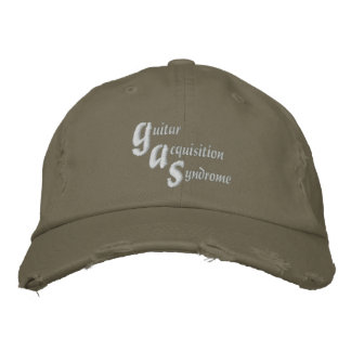 Guitar Acquisition Syndrome Embroidered Baseball Hat