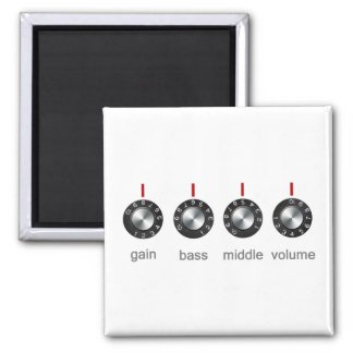 Guitar Amp Knobs Magnet