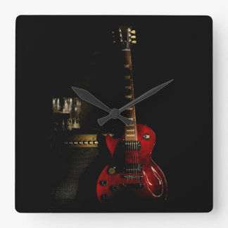 Guitar And Amp Clock