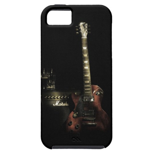 Guitar And Amp iPhone Tough Case
