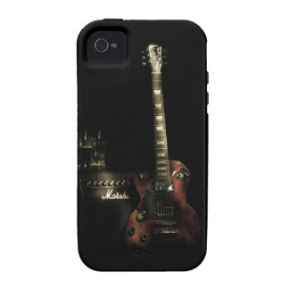 Guitar And Amp iPhone Tough Case iPhone 4 Cases