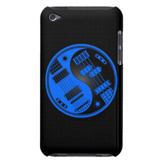 Guitar and Bass Yin Yang Blue and Black iPod Touch Case-Mate Case