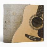 Guitar and Bricks 3 Ring Binders