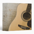 Guitar and Bricks Binder