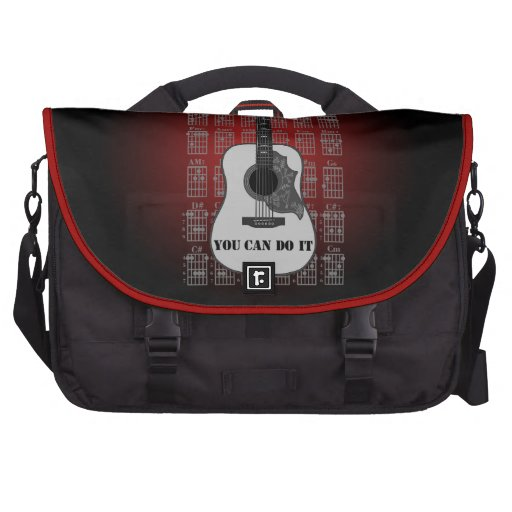 Guitar and chord 06 laptop bags