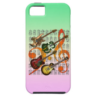 Guitar and Chord 07 iPhone 5 Cases