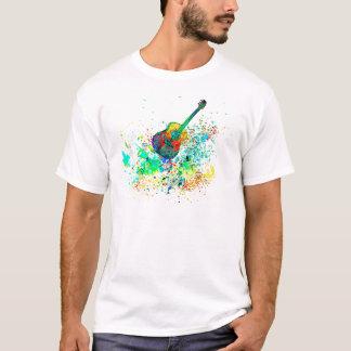 Guitar and chords splatter T-Shirt