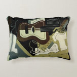 Guitar and Clarinet, 1920 Accent Pillow