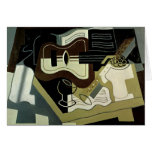Guitar and Clarinet, 1920 Card