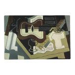 Guitar and Clarinet, 1920 Laminated Place Mat