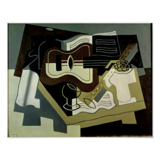 Guitar and Clarinet, 1920 Poster