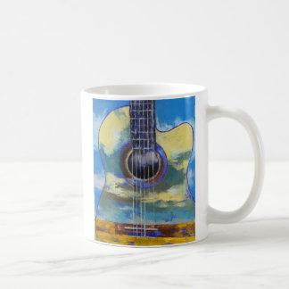 Guitar and Clouds Mug