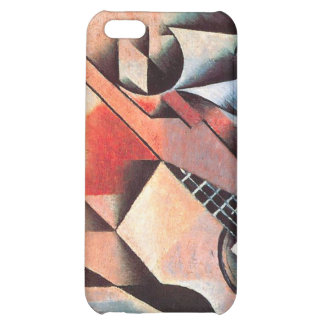 Guitar and Glasses, by Juan Gris Cover For iPhone 5C