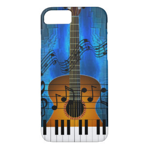 6c95045571c Guitar and Keyboard Music iPhone 8/7 Case