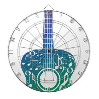 Guitar and Music Notes 10 Dart Boards