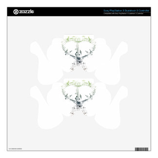 Guitar and Music Notes 4 PS3 Controller Skins
