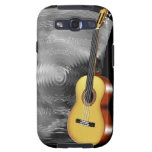 Guitar and Music Sheet Galaxy S3 Case