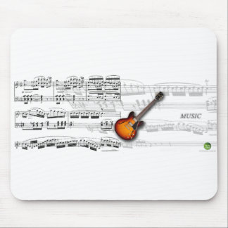 Guitar and partition mousepads