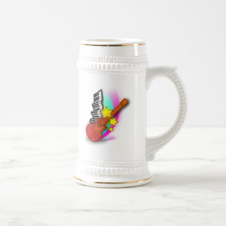 Guitar and Piano Beer Stein