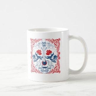 Guitar and Skulls Coffee Mug