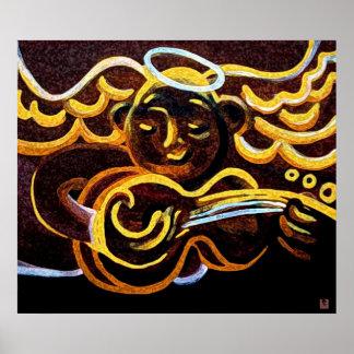 Guitar angel poster