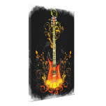 Guitar Art 1A Wrapped Canvas Gallery Wrap Canvas